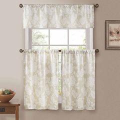 Duck River Ewva 3-pc. Kitchen Curtain Set
