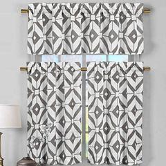 Duck River Mckenna 3-pc. Kitchen Curtain Set