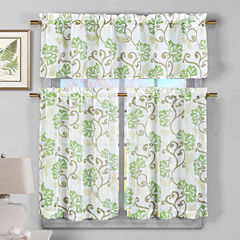 Duck River Rivietta 3-pc. Kitchen Curtain Set