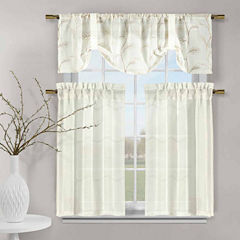 Duck River Videira 3-pc. Kitchen Curtain Set