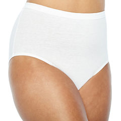 Fruit of the Loom 4-pack Fit For Me Ultra Soft Brief Panties