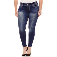 Wallflower Skinny Fit Jean-Juniors Plus