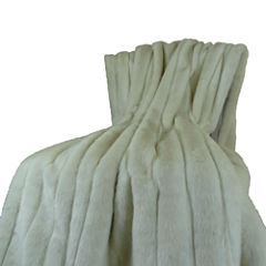 Plutus Fancy Faux Mink Throw