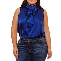 Bisou Bisou Sleeveless Bodysuit-Plus