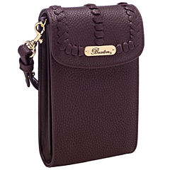 Buxton Cellphone Crossbody Wallet