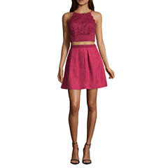 by&by Sleeveless Party Dress-Juniors