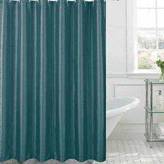 Jane Faux Silk Shower Curtain Shower Curtain Set
