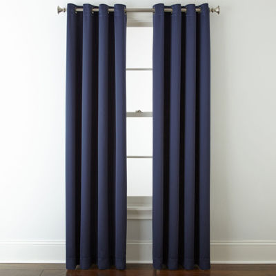 Great Liz Claiborne® Kathryn Room Darkening Grommet Top Curtain Panel