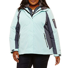 Free Country Water Resistant 3-In-1 System Jacket-Plus