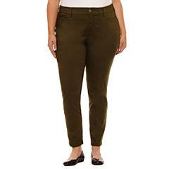 St. John's Bay Skinny Jeans-Plus (30