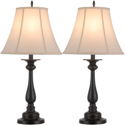 High Quality JCPenney Home™ Set Of 2 Hennessey Table Lamps