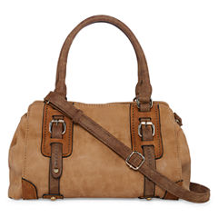 Louis Cardy Front Buckle Medium Satchel
