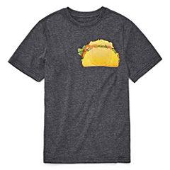 Seven Oaks Pocket T'S Short Sleeve Crew Neck T-Shirt-Big Kid Boys