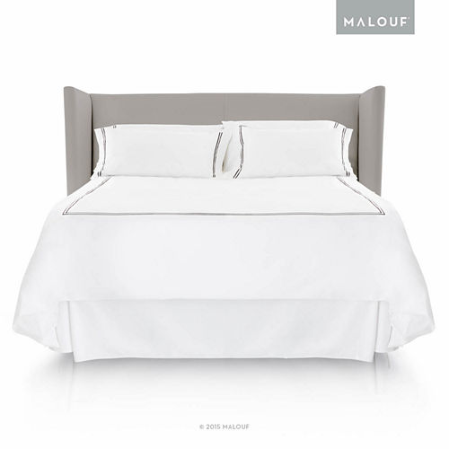 Malouf Woven Matelasse 14-Inch Bed Skirt