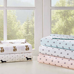 Hipstyle 200tc Printed Easy Care Sheet Set