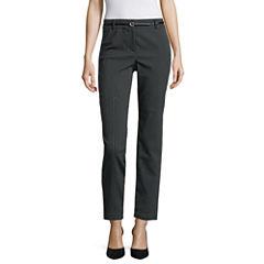 Liz Claiborne® Belted Ankle Pants