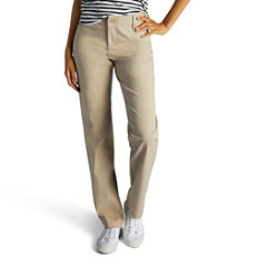 Lee® Original Plain-Front Pants - Petites