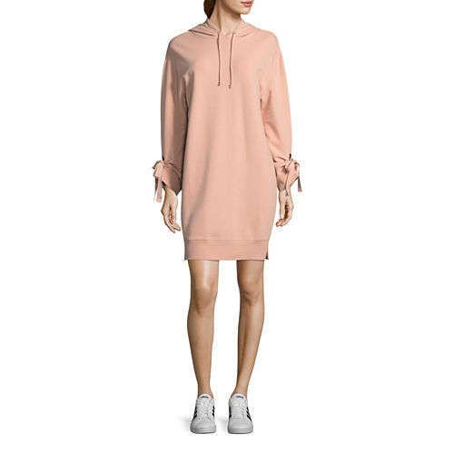 Project Runway Hooded Sweatshirt Dress