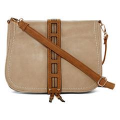 Louis Cardy Large Messenger Crossbody Bag