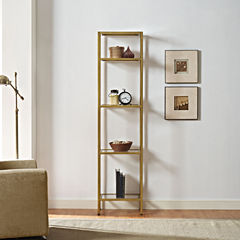 Aimee Narrow Etagere Bookcase