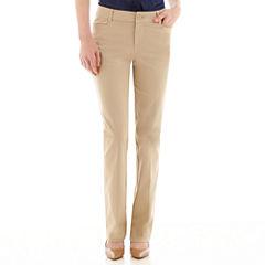 St. John's Bay® Bi-Stretch Pants - Tall