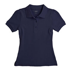 French Toast® Piqué Polo - Girls 7-20 and Plus