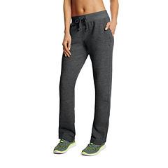 Champion® Fleece Open-Bottom Pants
