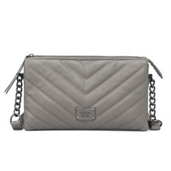 Nicole By Nicole Miller Lola Quilted Crossbody Bag