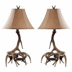 Safavieh Bark Lamp- Set of 2