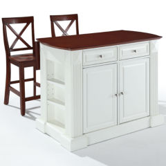 Kitchen Island Jcpenney white kitchen carts & islands for the home - jcpenney