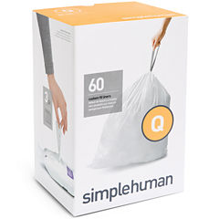 simplehuman® Custom-Fit Trash Can Liners Code Q - 60-pack