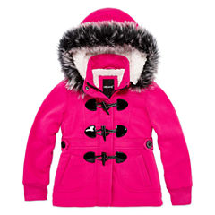 Me Jane Midweight Fleece Jacket-Preschool Girls