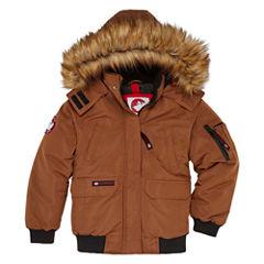 Canada Weather Gear Bomber Parka - Boys 8-20