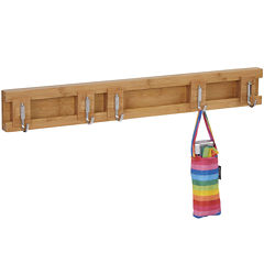 Household Essentials® Sliding 5-Hook Wall Coat Rack