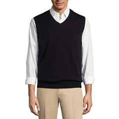 Claiborne V Neck Sweater Vest