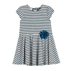 Marmellata Sleeveless Pattern A-Line Dress - Baby Girls