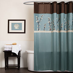 Lush Decor Lush Décor Cocoa Shower Curtain