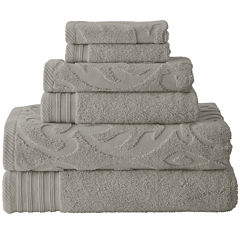 Pacific Coast Textiles™ Medallion Swirl 6-pc. Bath Towel Set