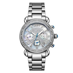 JBW Victory Womens 1/6 CT. T.W. Diamond Stainless Steel Bracelet Watch JB-6210-D