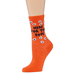 City Streets 1 Pair Crew Socks - Womens