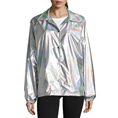 Holographic Windbreaker- Juniors