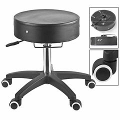 Master® Massage Adjustable Rolling Massage Stool