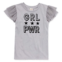 Arizona Mesh SS Rock Tee - Girls' 7-16 & Plus