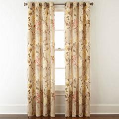 JCPenney Home™ Farrah Grommet-Top Curtain Panel