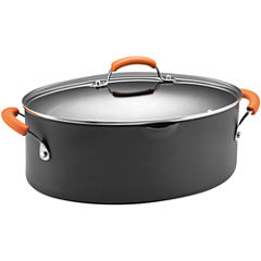 Rachael Ray® 8-qt. Hard-Anodized Covered Stock Pot
