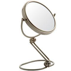 Jerdon Style Folding Travel Mirror