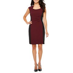 Chelsea Rose Cap Sleeve Sheath Dress