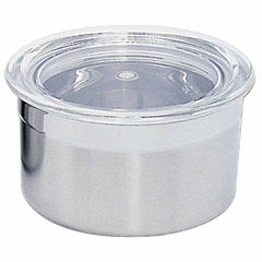 Studio Stainless Steel Canister with Lid .25 cups