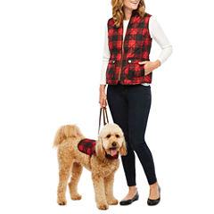 St. John's Bay Quilted Vest or St. John's Bark Dog Vest