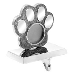 North Pole Trading Co. Paw Print Stocking Holder